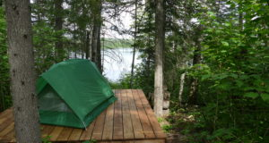 Camping sauvage – secteur Albanel